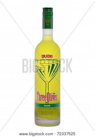Three Olives Dude Lemon-lime Flavoured Vodka