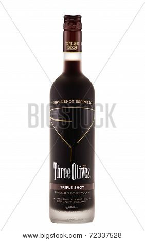 Three Olives Triple Shot Espresso Flavoured Vodka