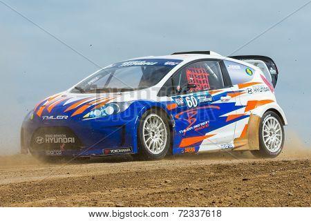 Tyler Benson Rally Driver