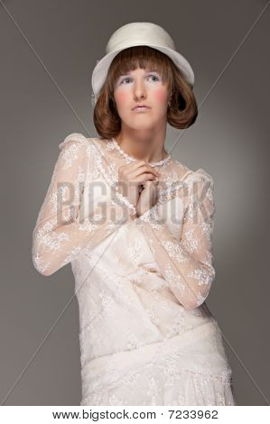 Elegant Woman In Hat