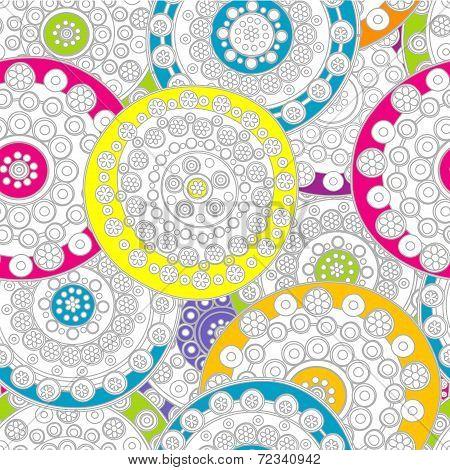 Doodle Floral Background