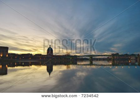 Sunset in Toulouse