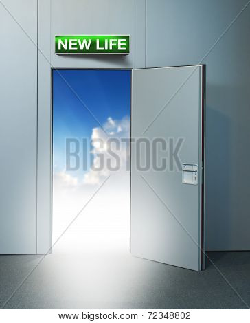 New Life Door To Heaven