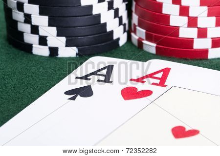 Aces In Blackjack Game