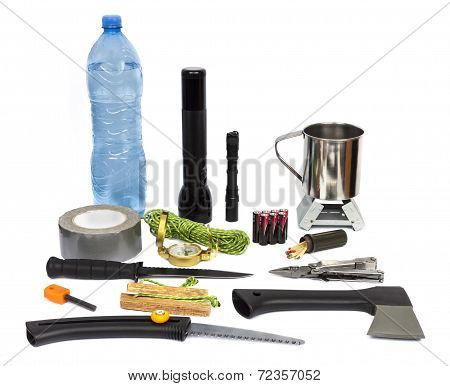 Survival Kit With Emergency Supplies