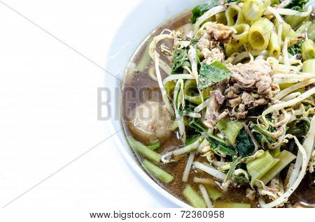 Noodle , Thai Noodle , Thai Noodle Meat . Thai Noodle Thin Line , Thai Noodle Small Line , Thailand