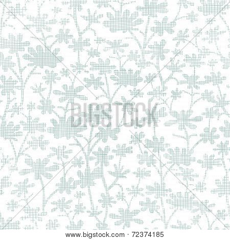 vector abstract gray bush leaves textile seamless pattern background