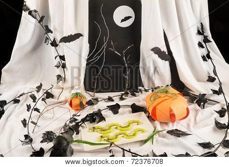 Fruity Halloween Dessert