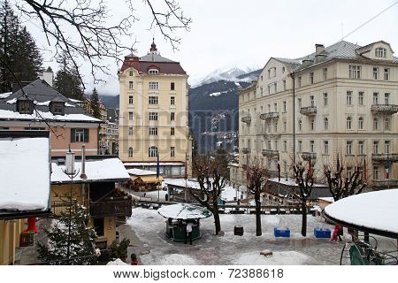 Bad Gastein - One Of The Most Popular Ski Resort In The Austria .