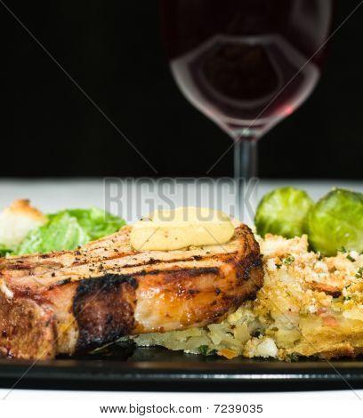 Fine Dining - Grilled Pork