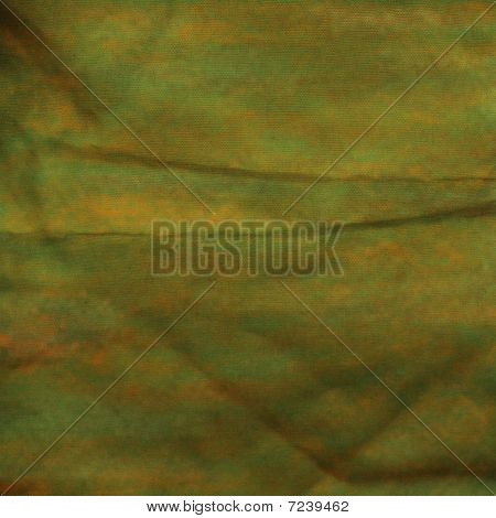 Textured Green Orange Background