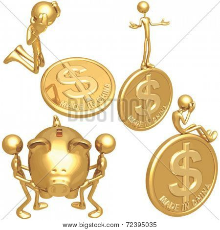 Made In China Dollar Coins