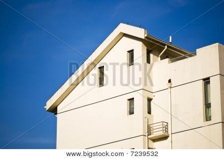 Apartment Building Under Blue Sky - Urban Living