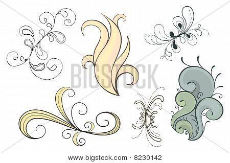 Floral Deco Set