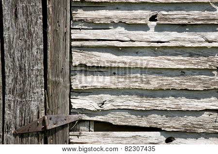 Century Old Barn Side Background