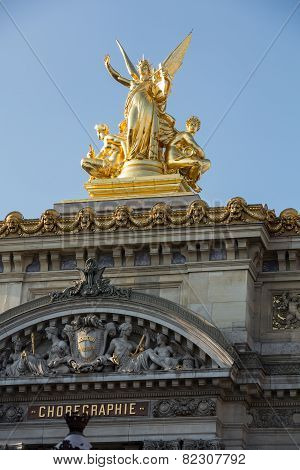 The Paris Opera or Garnier Palace.France.