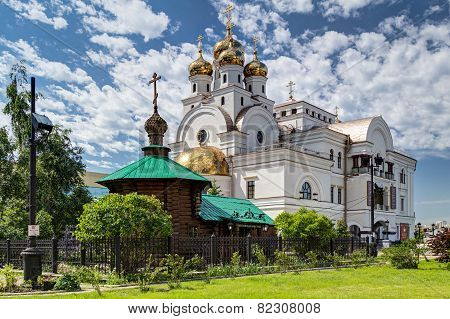 Church of All Saints in Yekaterinburg