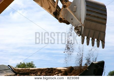 Construction - Bucket of a Backhoe #2