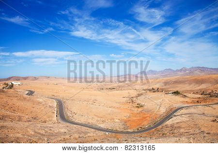 Inland Fuerteventura, Canary Islands, Province Of Betancuria