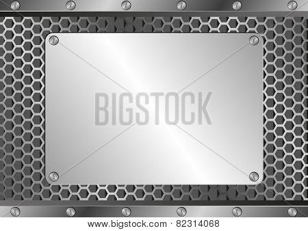 Blank Silver Plaque