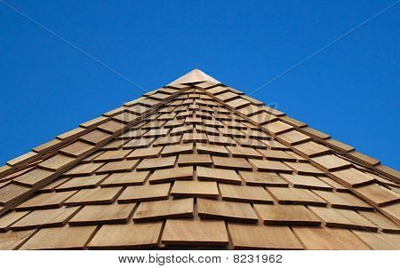 Wooden Cladded Roof