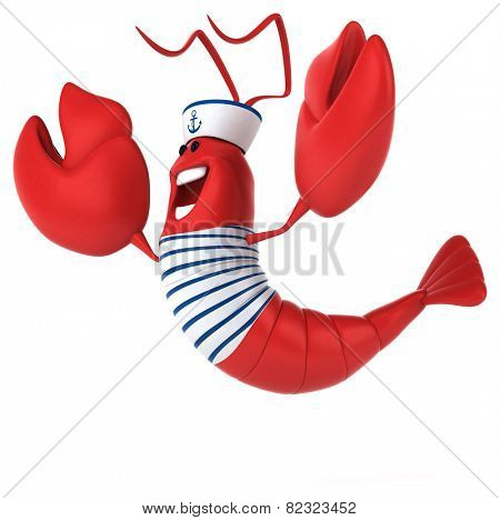 Fun lobster
