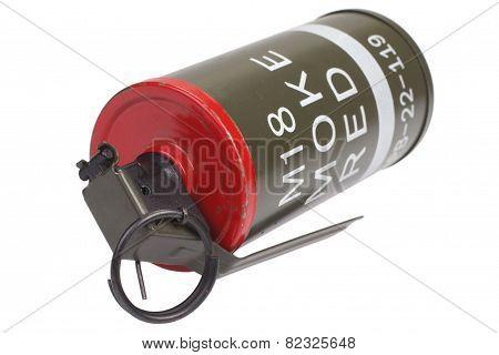 M18 Red Smoke Grenade