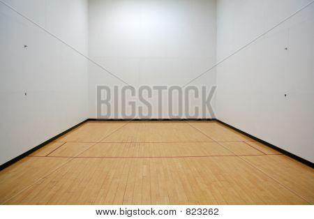 Empty Racquetball Court