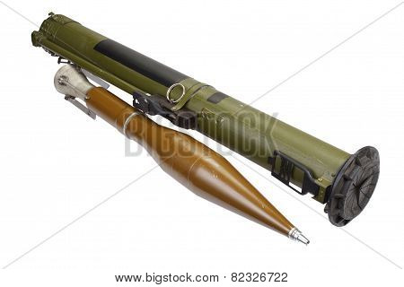 Anti-tank Rocket Propelled Grenade Launcher With Heat Grenade