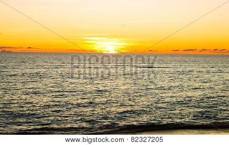 Unreal Background Idyllic Paradise