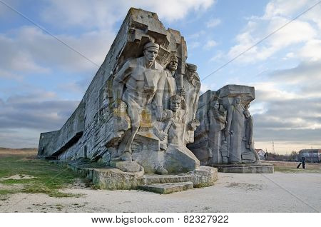 Monument To The Fallen In Adzhimushkay Quarries