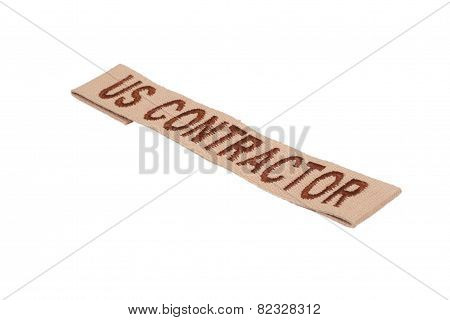 Us Contractor Uniform Badge