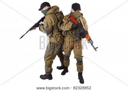Insurgents With Ak 47