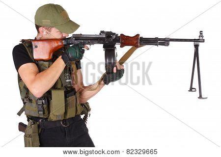 Mercenary With Rpg Gun