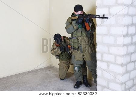 Rebels With Ak 47