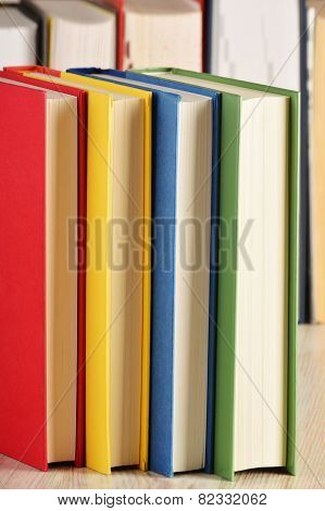 Composition With Books On The Table