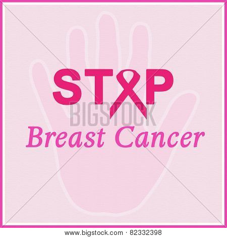 Stop Breast Cancer poster