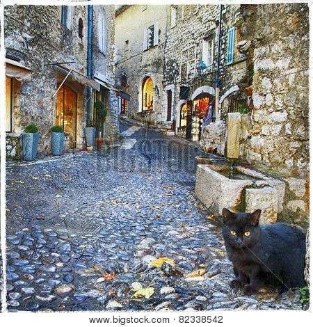 characteristic villages of Provence -St. Paul De Vence