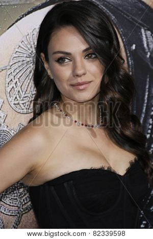 LOS ANGELES - FEB 2: Mila Kunis at the 'Jupiter Ascending' Los Angeles Premiere at TCL Chinese Theater on February 2, 2015 in Hollywood, Los Angeles, California