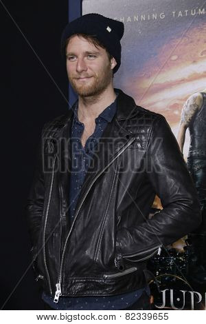 LOS ANGELES - FEB 2: Jake McDorman at the 'Jupiter Ascending' Los Angeles Premiere at TCL Chinese Theater on February 2, 2015 in Hollywood, Los Angeles, California