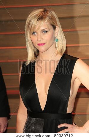 WEST HOLLYWOOD - MAR 2:: Reese Witherspoon at the 2014 Vanity Fair Oscar Party on March 2, 2014 in West Hollywood, California
