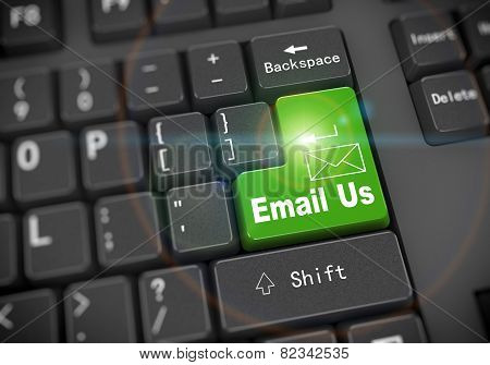 3D Keyboard - Email Us