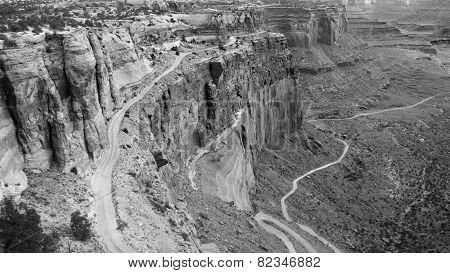 Shafer Trail Canyon