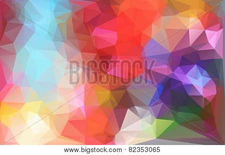 Colorful Polygonal Mosaic Background, Vector Illustration,  Creative  Business Design Templates