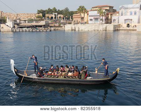 People Ride In  Gondola