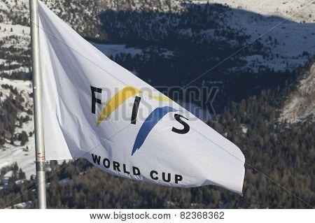 Start Area During World Ski Men Ita Downhill Race