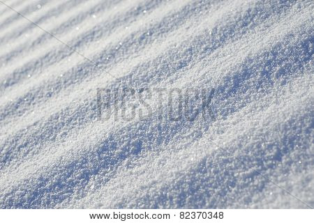 Abstract Striped Diagonal Snow Surface