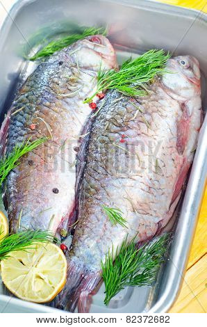fish with spice