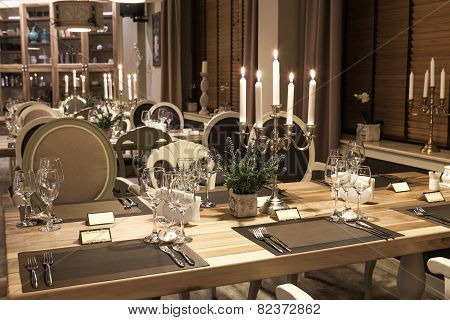 Classic Restaurant Interior