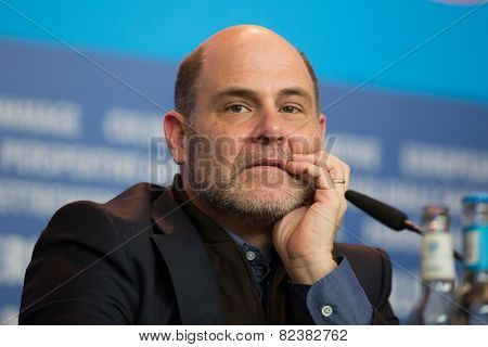 BERLIN- FEBRUARY, 05: Matthew Weiner. International Jury of Berlinale. Press Conference at Hyatt Hotel, February, 05, 2015 in Berlin, Germany